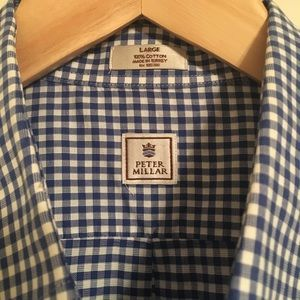 Peter Millar Men's Button-Down Sport Shirt